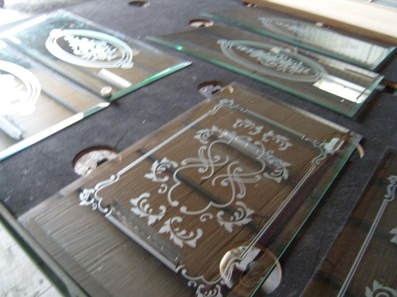 Klassieke zandstraaldesigns bloemen tekeningen in zandstraalfolie media noord - Decoratieve spiegel plakken ...