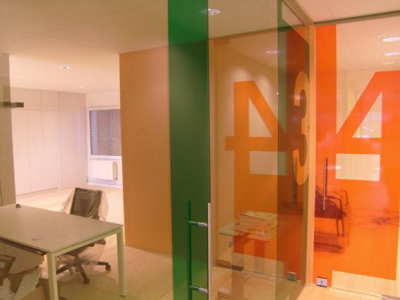 Transparante doorzichtige kleurfolie met cijfers for Spiegelfolie gamma